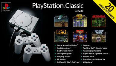 PlayStation Classic juegos