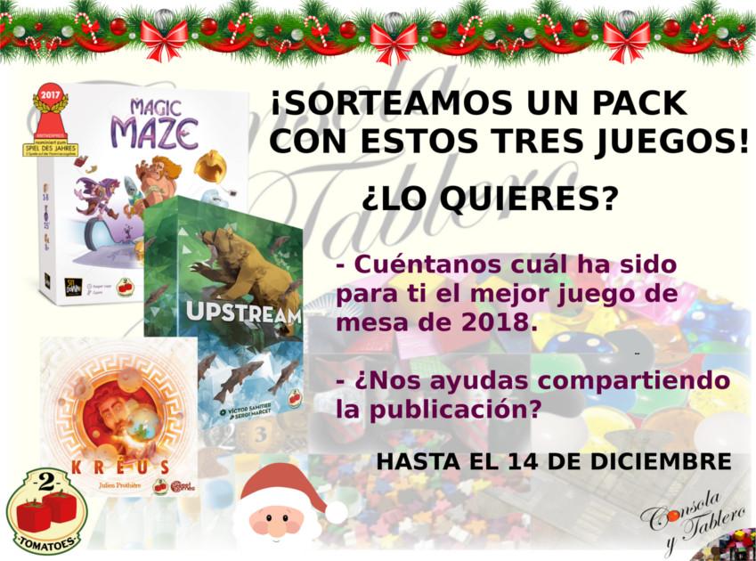 Sorteo de Navidad Facebook