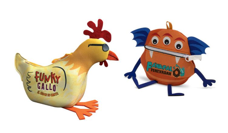 Funky Chicken Monster Match castellano