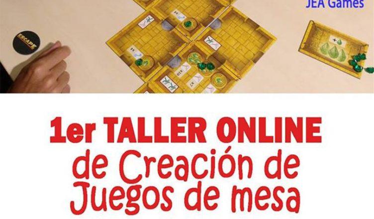 Primer Taller Online de Creación de Juegos de Mesa
