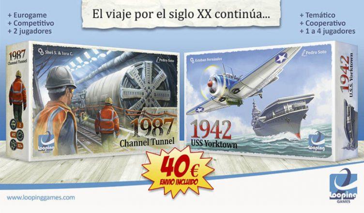 1987 Channel Tunnel 1942 USS Yorktown