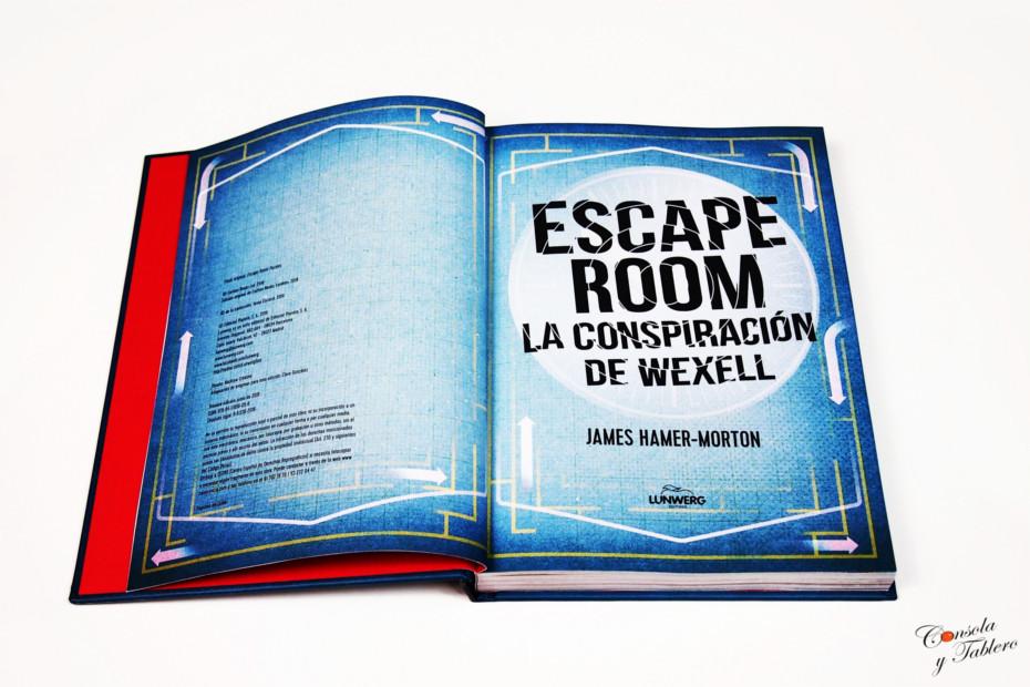 Escape Room: La conspiración de Wexell