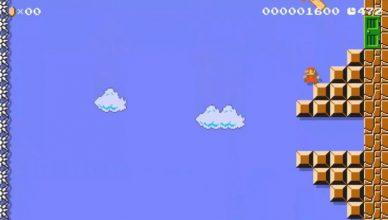 Super Mario Bros vertical
