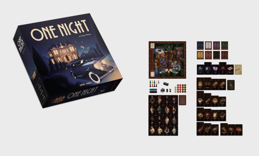 One Night juego de mesa
