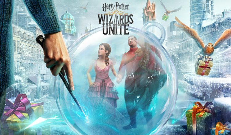 Navidad Harry Potter Wizards Unite