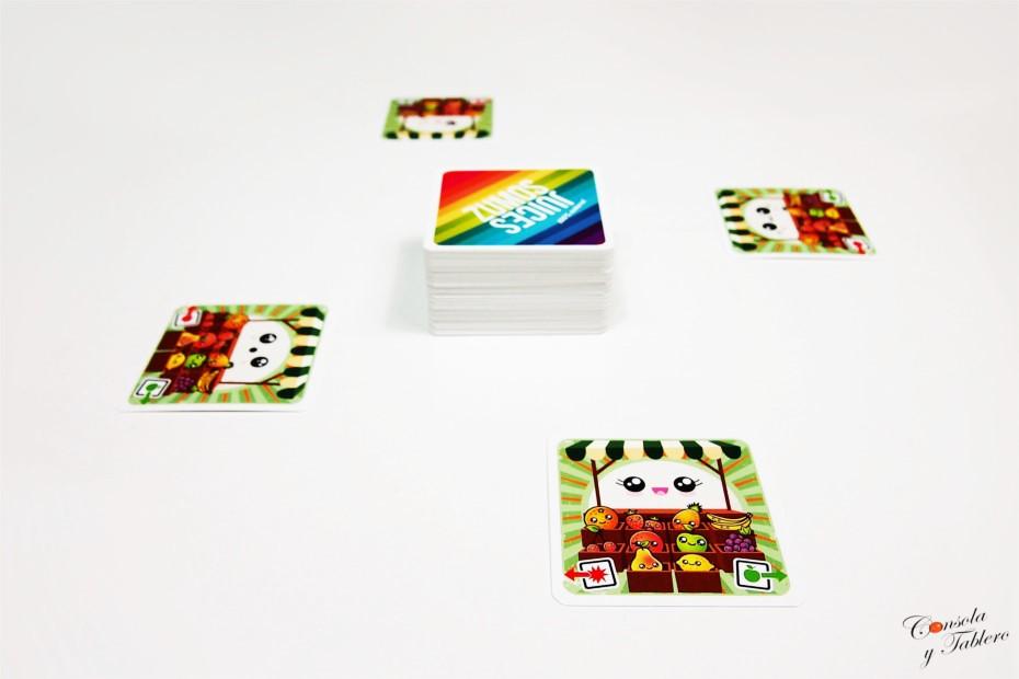 Zumos juego de cartas
