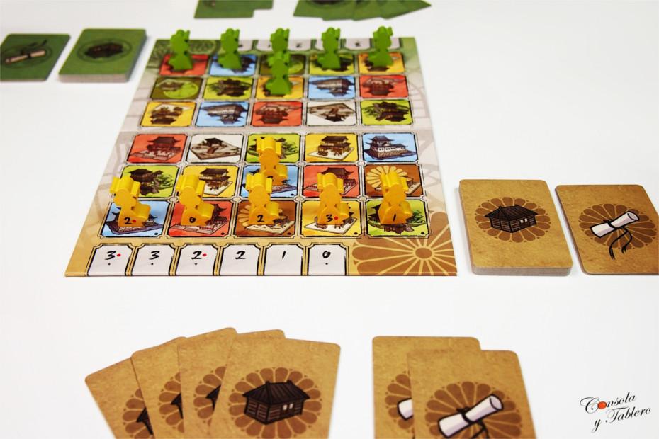 Shadows in Kyoto board game