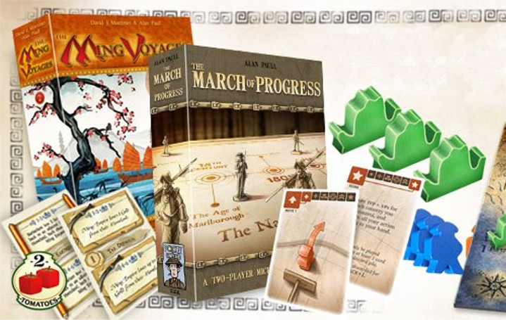 The Ming Voyages y The March of Progress