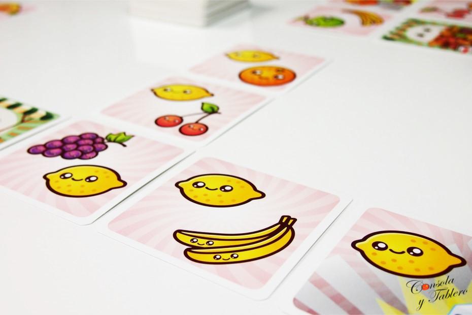 Zumos cartas