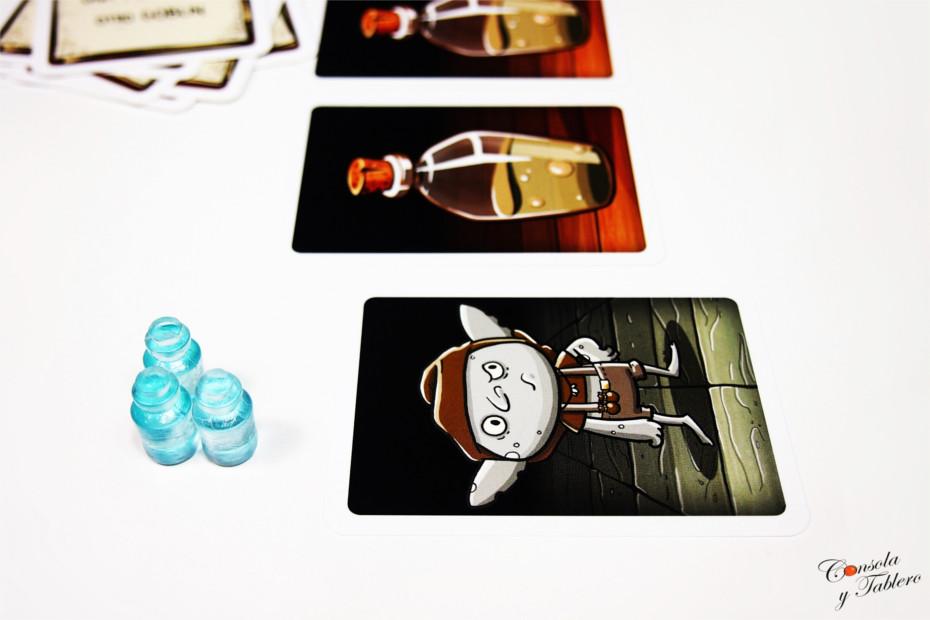 juego de mesa pociones