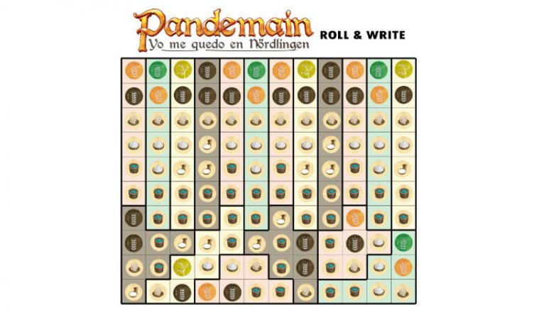 Pandemain roll and write