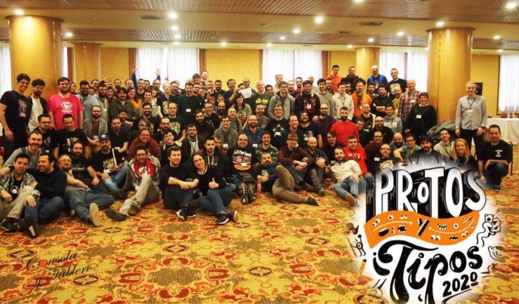 Protos y Tipos 2020 foto de grupo