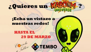 Sorteo Kaboom Universe