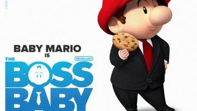 personajes Nintendo carteles películas