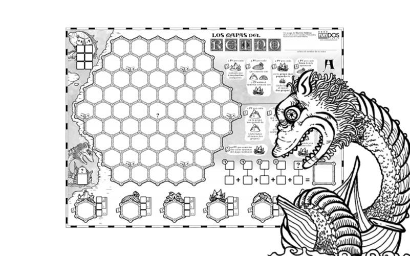 Los Mapas del Reino Print and Play gratuito