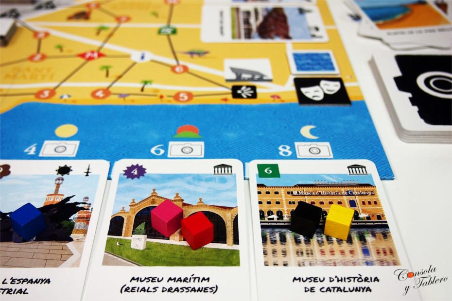 Barcelona juego de mesa