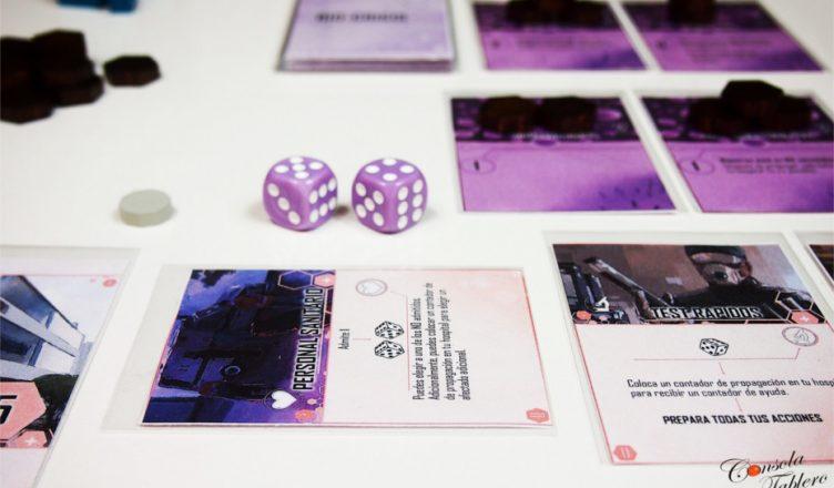 BIO-CRISIS juego de mesa
