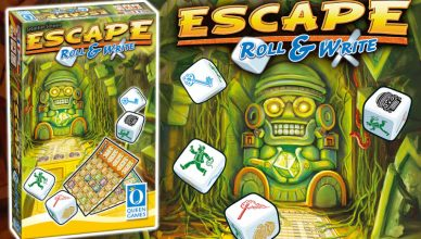 Escape Roll & Write