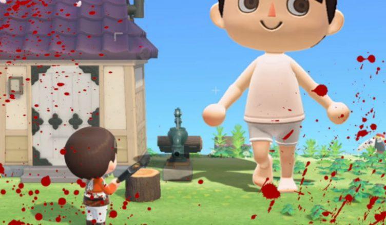 Ataque a los Titanes Animal Crossing
