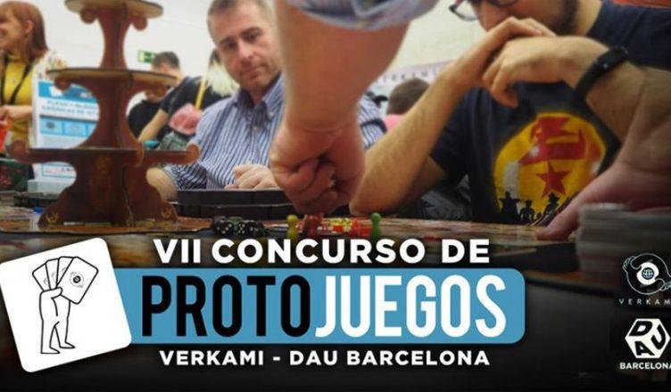 VII Concurso de Protojuegos Verkami - DAU Barcelona