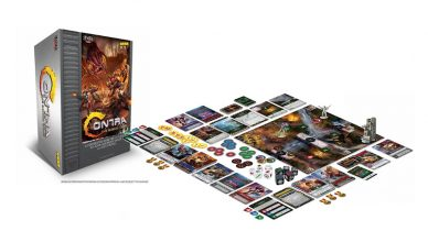 Contra The Board Game