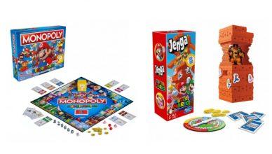 Monopoly Jenga Mario