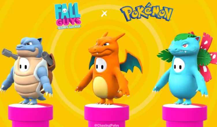 Fall Guys Pokemon