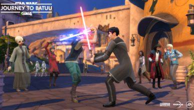 Los Sims 4 Star Wars Journey to Batuu