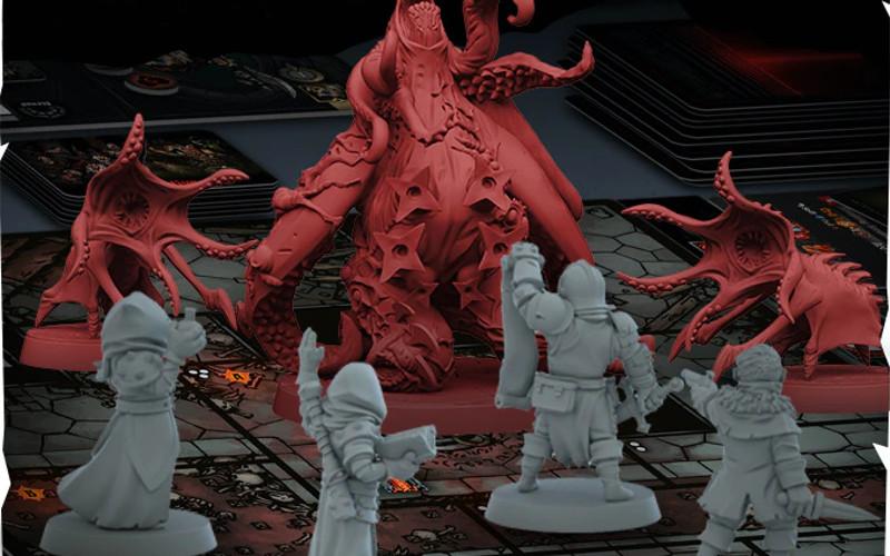 Darkest Dungeon juego de mesa