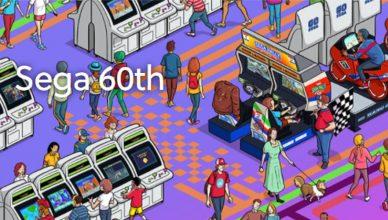 Sega 60 aniversario