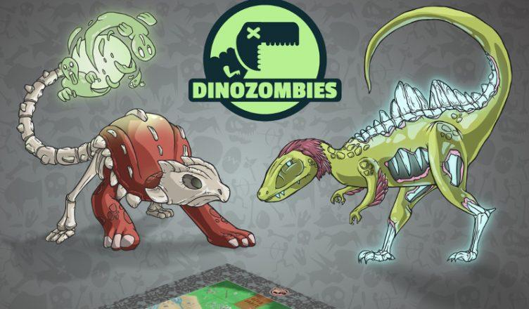 Presentado Dinozombies Un Combate Entre Criaturas Extintas Consola Y Tablero La reducción del tamaño de los. combate entre criaturas extintas
