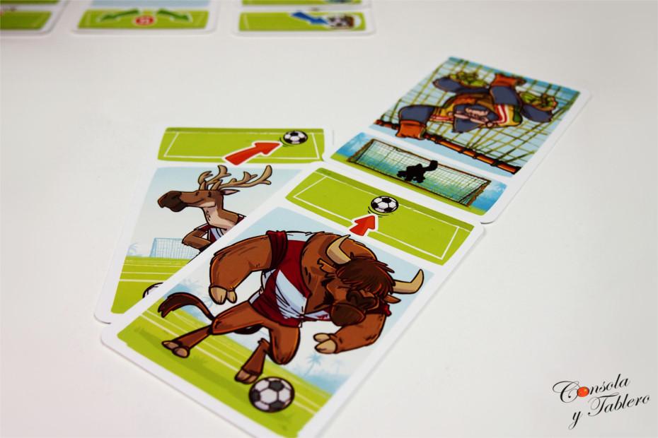 fútbol animales