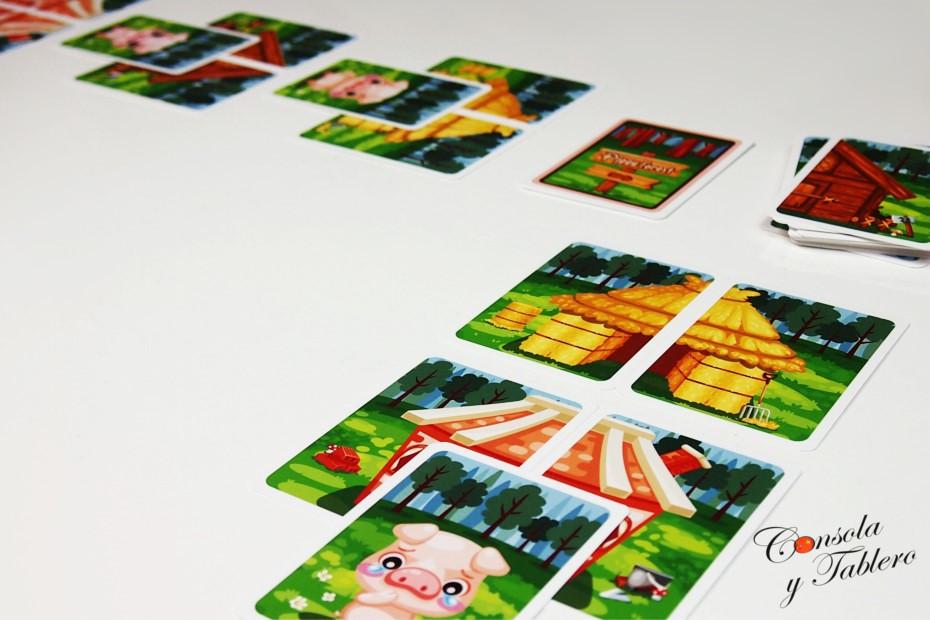 juego de mesa cerditos