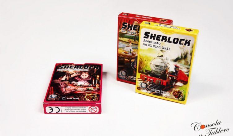 Sherlock nuevas cajas
