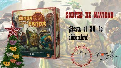 Sorteo Navidad La Senda del Panda