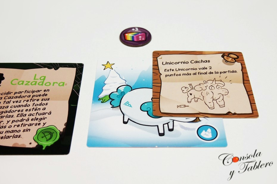 juego de mesa unicornios