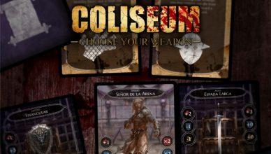 Coliseum Choose your weapon