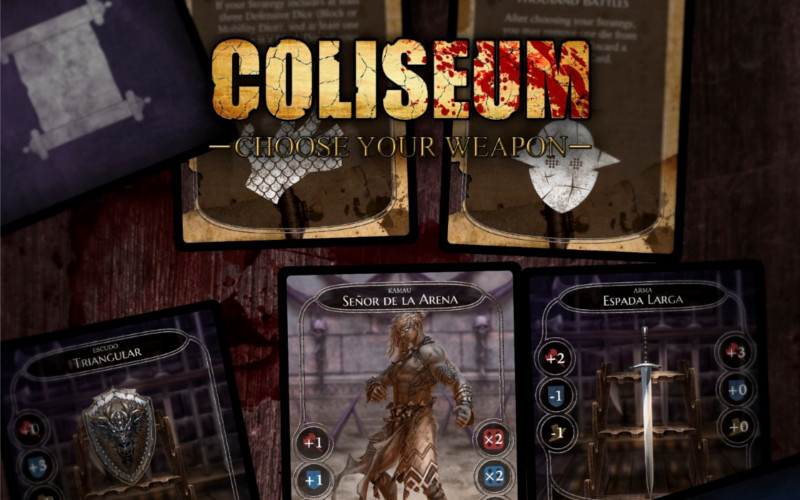 Coliseum Choose your weapon