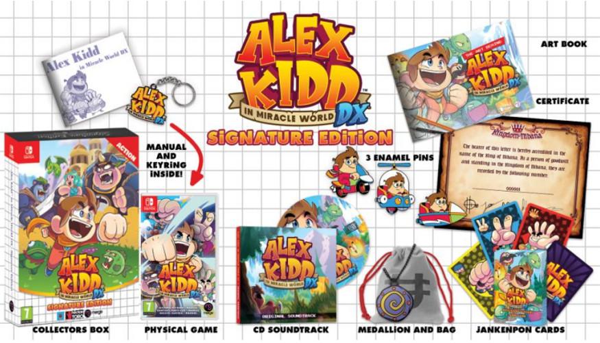 Alex Kidd formato físico