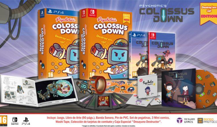Colossus Down Destroy 'em up Edition