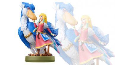 amiibo Zelda y pelícaro