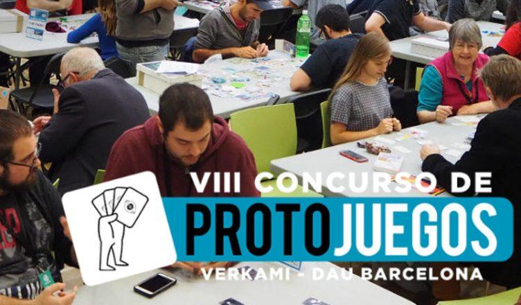 VIII Concurso de Protojuegos Verkami DAU Barcelona