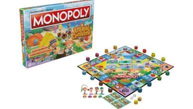Monopoly Animal Crossing New Horizons