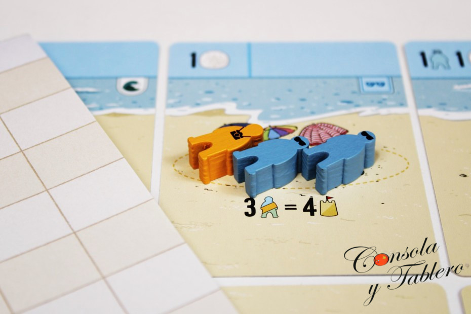 juego de mesa playa