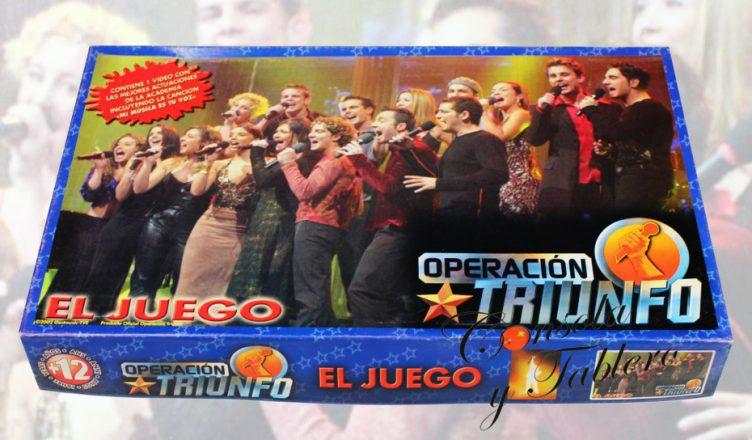 Operación Triunfo El juego de mesa 2002