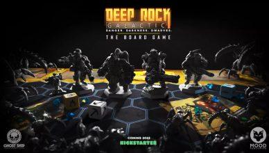 Deep Rock Galactic The Board Game